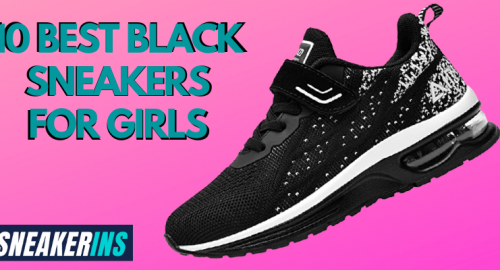 Black Sneakers for Girls